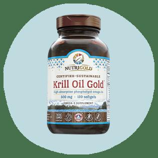 Huile NutriGold Krill Gold