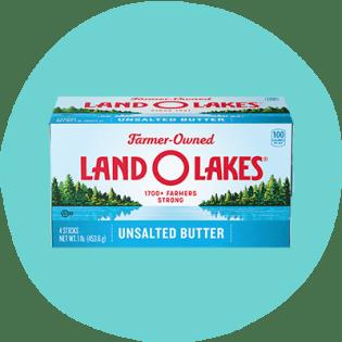 Beurre non salé Land O'Lakes