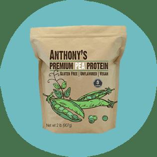 Protéine de pois premium d'Anthony