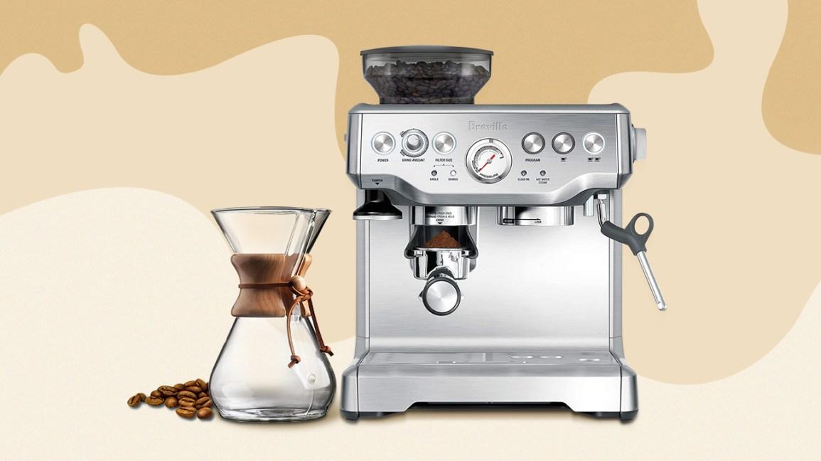 Illustration de la cafetière