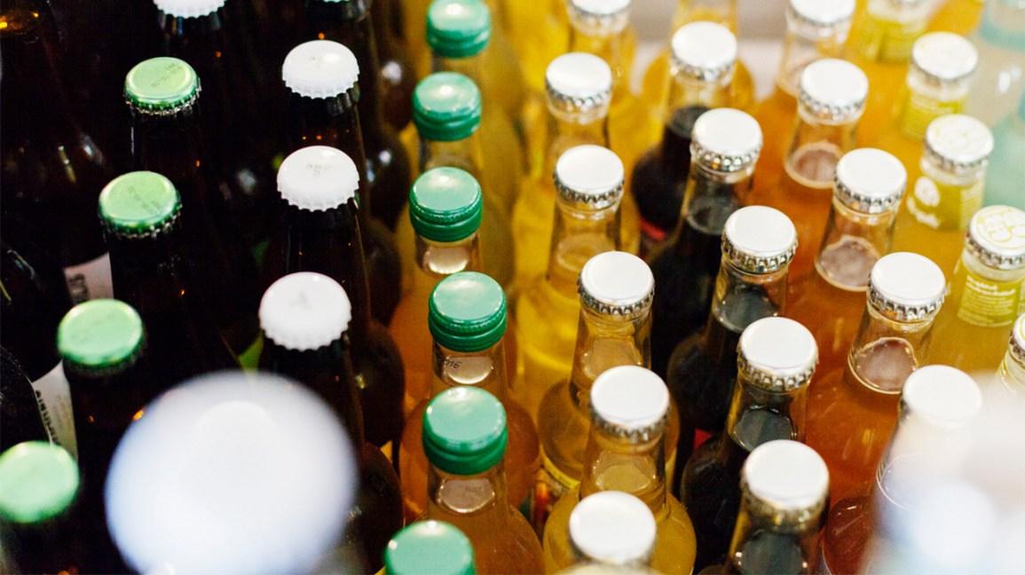 bouteilles de soda