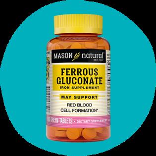Ferrous gluconate de Mason naturel
