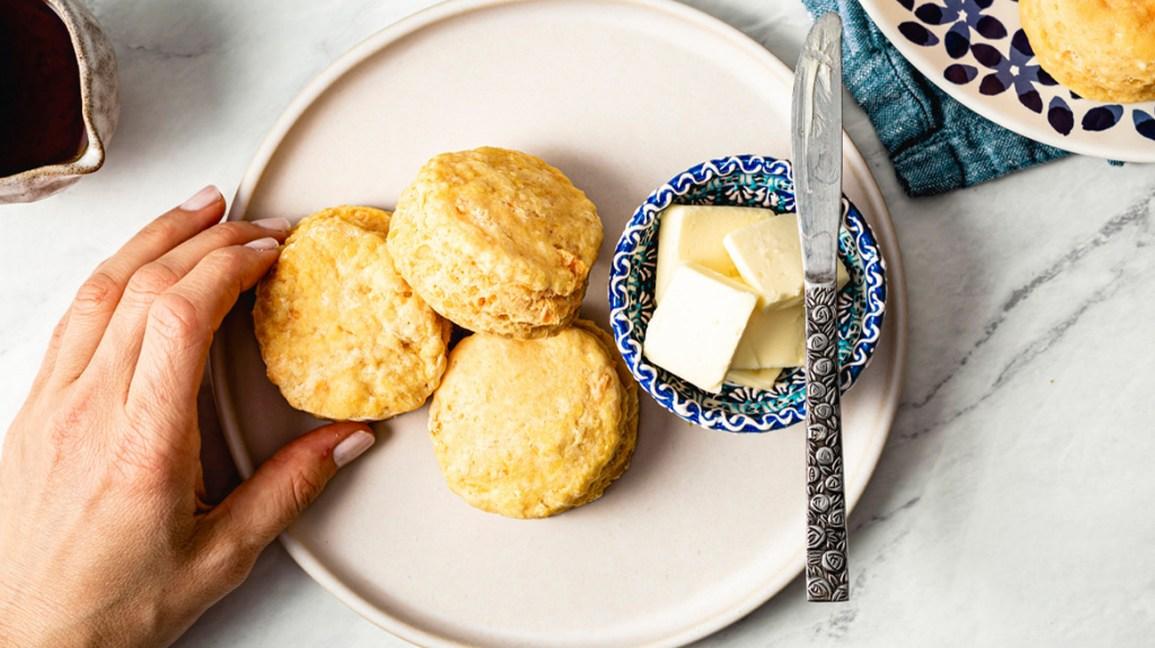 Beurre et biscuits