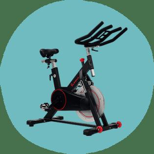 Vélo de cyclisme d'intérieur à courroie magnétique Sunny Health & Fitness