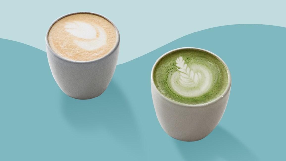 Matcha contre café matcha et le café