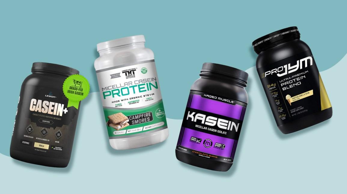 Poudres de protéines de caséine