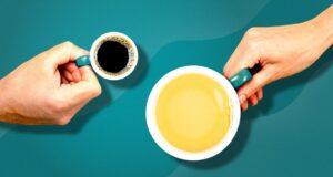Thé vert vs café
