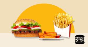 végétaliennes chez Burger King